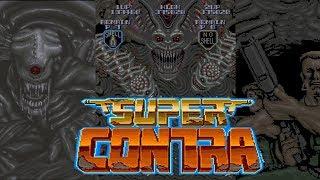 Super Contra (Arcade/Konami/1988) [720p]
