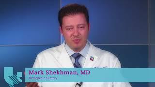 Meet Mark Shekhman, MD, Orthopedic Surgeon