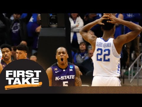 First Take reacts to Kentucky losing to Kansas State in NCAA tournament | First Take | ESPN