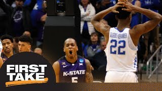 First Take reacts to Kentucky losing to Kansas State in NCAA tournament | First Take | ESPN