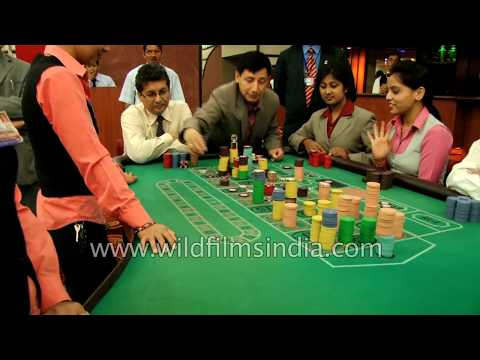 Casino in Pokhara, Nepal: roulette and blackjack gambling
