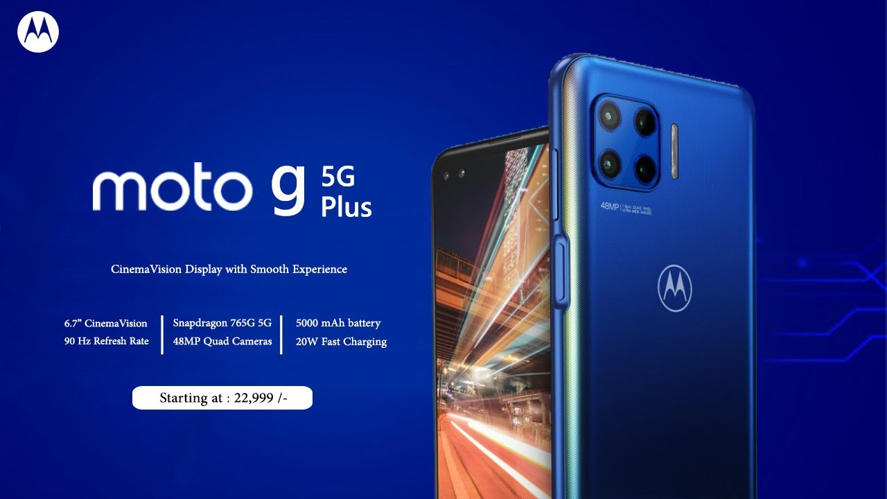 Moto G 5G Plus - Official Launch - Specifications   India Price