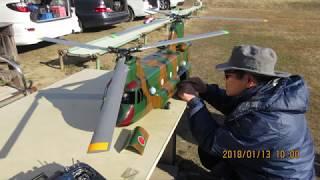 T内氏のHIROBOチヌークの動画が初登場 FMSの小型のF3A練習機も初登場 I...