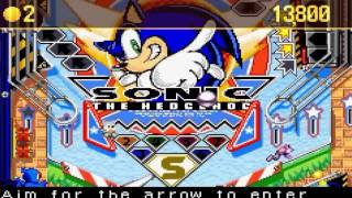 Sonic Pinball Party part 1 Sonic vs Knuckles