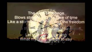 Scorpions - Wind Of Change - Lyrics