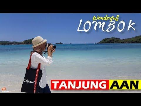 Tanjung Aan Lombok - Pantainya LUAR BIASA!!! cuma Rp 10rb