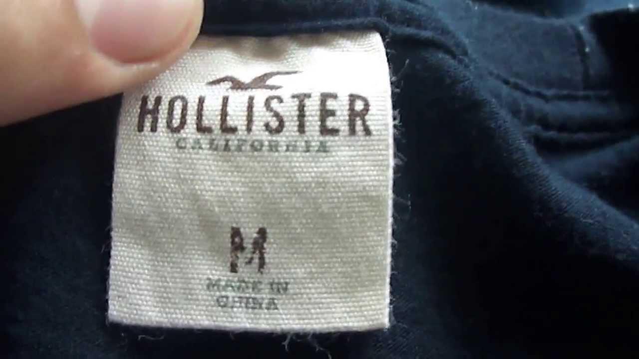 Hollister e Abercrombie Realmente Original Importada dos E.U.A - YouTube 42a95b04084d4