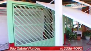Preço de Portão para garagem - Venda de Portões basculantes em São Paulo SP