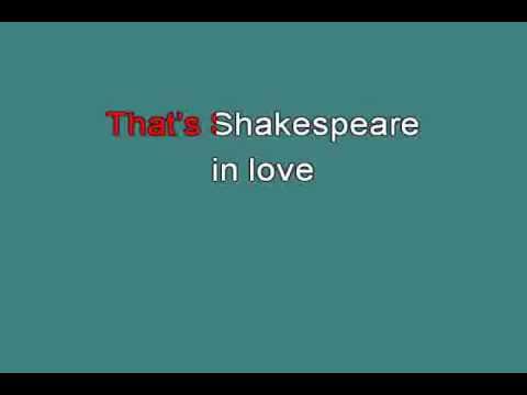 SHAKESPEARE IN LOVE 713244 [karaoke]
