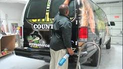 Media Works Inc of Jacksonville FL Installs Gator Country's Vehicle Wrap