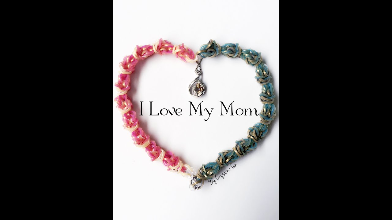 I Love My Mom Hooks Only By Crystina Tan Crystinatan On