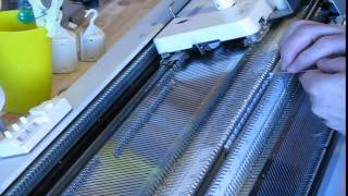 Double Bed e-wrap on a Singer …