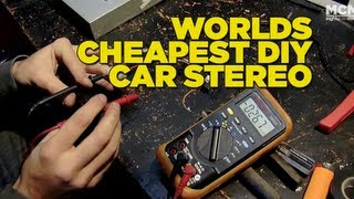 Worlds Cheapest DIY Car Stereo