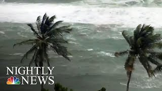 Category 4 Hurricane Maria Takes Aim At Puerto Rico, Virgin Islands | NBC Nightly News thumbnail