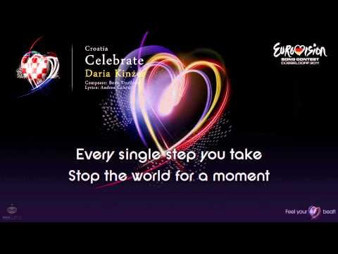 """Daria Kinzer - """"Celebrate"""" (Croatia) - [Karaoke version]"""