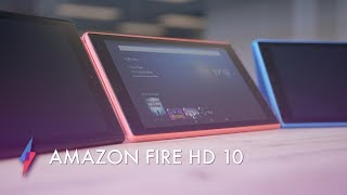 Amazon Fire HD 10 (2017) - Hands On | Trusted Reviews