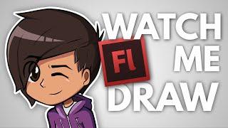WATCH ME DRAW ME!! - (Speed art)