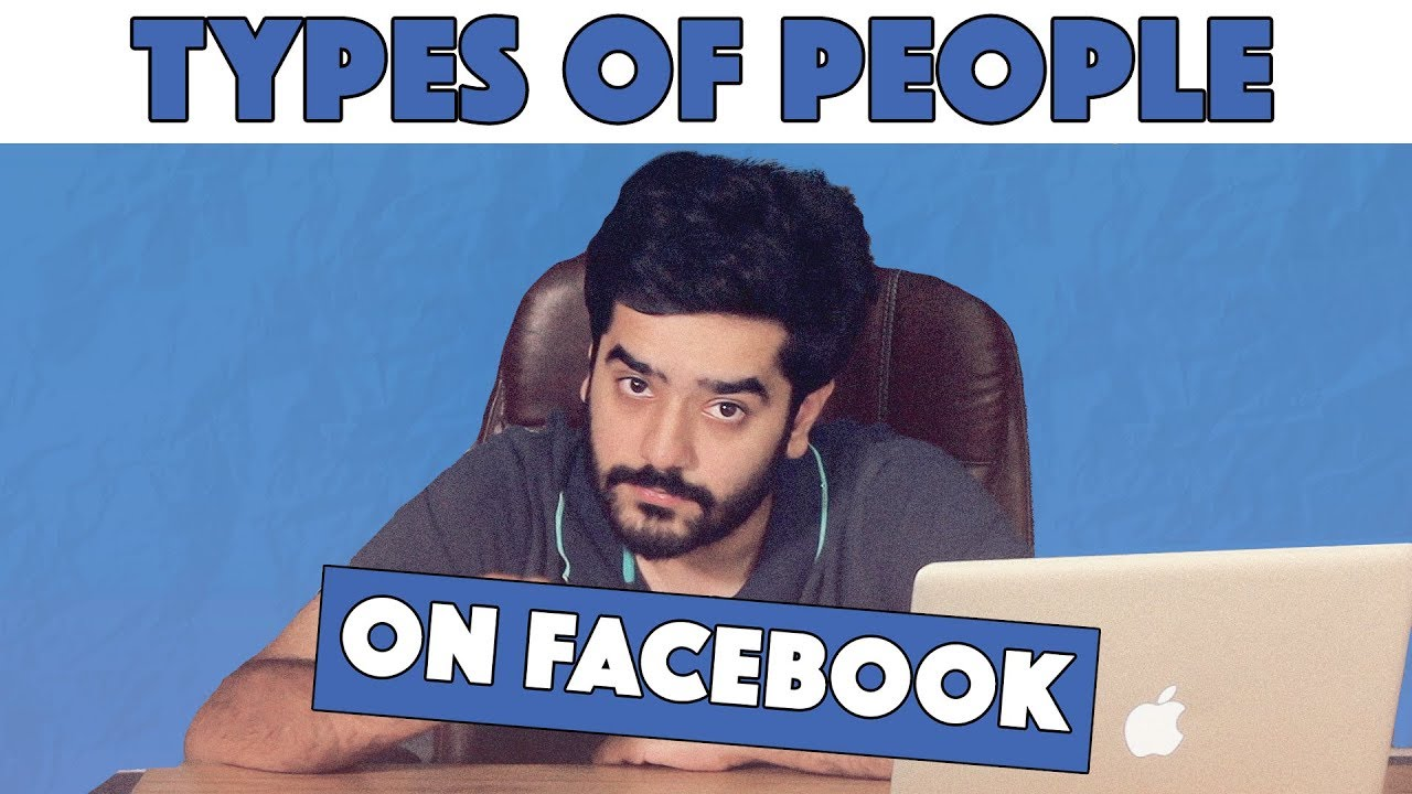Types of People on Facebook | MangoBaaz