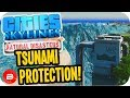 Cities Skylines ▶BEST TSUNAMI PROTECTION??◀ #34 Cities: Skylines Green Cities Natural Disasters