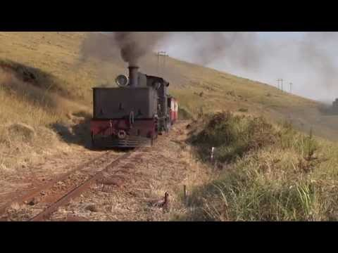 Steam of Patons Country Narrow Gauge Railway  South Africa(May.2013) 1南ア パットンズ狭軌鉄道の蒸気機関車(2013年5月) 3