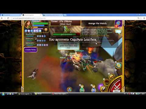 Arcane Legends 2 Boss Fights (Normal And Elite Mode) PC