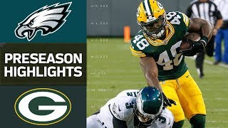 Eagles vs. Packers | NFL Preseason Week 1 Game Highlights