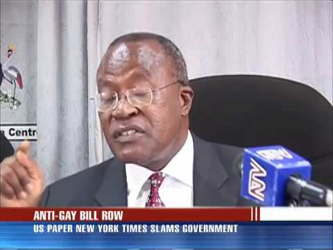 NY Times pens Editorial on Uganda's Gay-bill