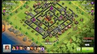 Farmeando con gigantes y sanadoras - Clash of Clans gameplay