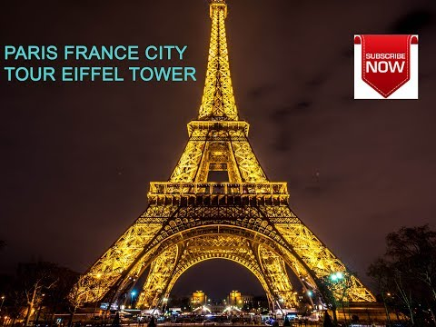 EIFFEL TOWER AT NIGHT, Paris France