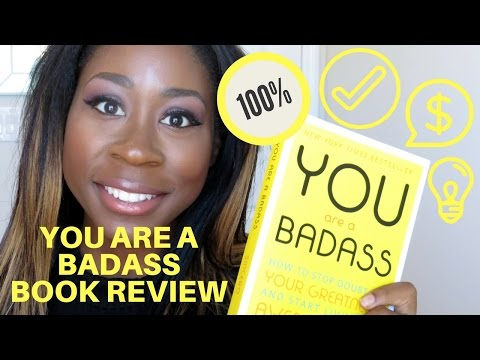 YOU ARE A BADASS | JEN SINCERO | BOOK REVIEW 2016 | ITSMEKATRICE