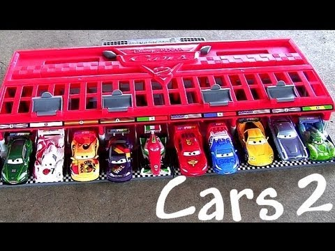 Cars Race Launcher World Grand Prix Speedway Multilanzadera By