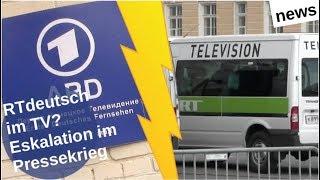 RT deutsch im TV? Eskalation im Pressekrieg