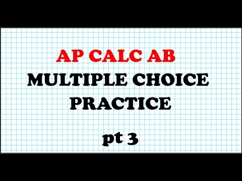 AP calculus ab multiple choice Questions 11 to 15
