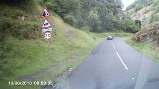Drive Through Cheddar Gorge, Somerset