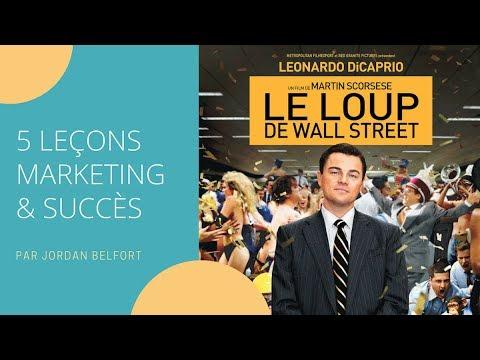 Les 5 leçons Marketing du Loup de Wall Street