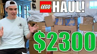MASSIVE LEGO STAR WARS HAUL! (501st Battle Packs, RARE Sets, & More!)
