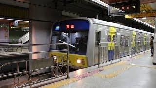 분당선 오리역에 들어온 망포행 열차 (Bundang Line Ori Station)