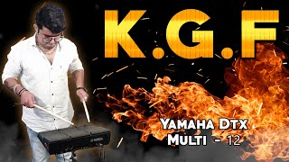 KGF - Heart Touching Mother Song On Yamaha Dtx Multi - 12 | Janny Dholi