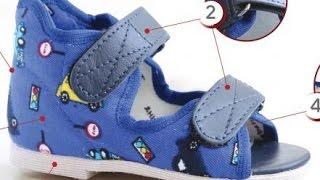 видео Ортопедические тапочки. Домашняя ортопедическая обувь для женщин и детей