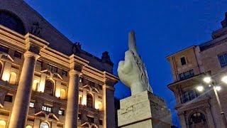 Milano Gets Flipped the Bird