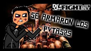 ME PARTIERON LA MANDARINA EN GAJOS [DEF JAM FIGHT FOR NY PSP]