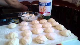 Пирожки с творогом в духовке (советские)
