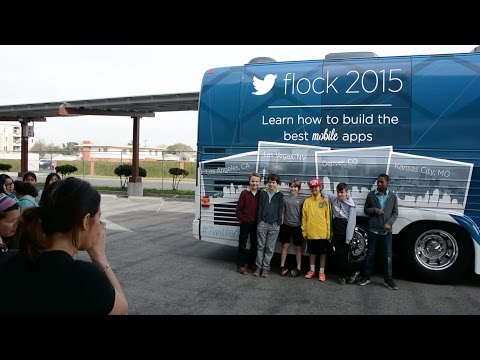 Flock 2015: The Incubator School in Los Angeles, CA