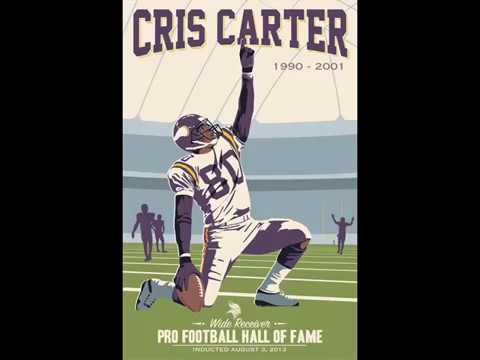 Cris Carter - All He Does Is Catch TOUCHDOWNS!!! (Career Highlights) Vol. 2 (1/3)