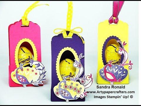 Easter Egg Thrones - SandraR Stampin' Up! Demonstrator Independent