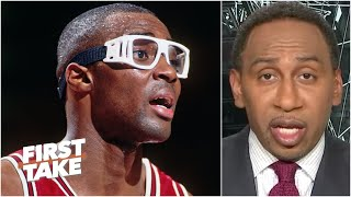 Stephen A. reacts t๐ Horace Grant calling Michael Jordan a 'liar' and a 'snitch' | First Take