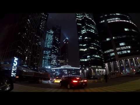 🚘Московский мегаполис никогда не спит. Ночная жизнь в Москве. Прогулка по городу. Moscow Russia!