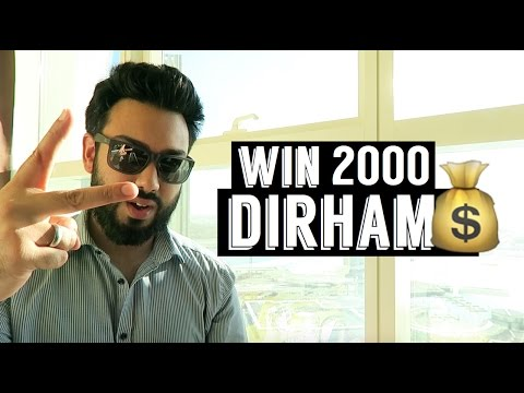 WIN 2000 DIRHAMS !!!