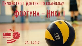 Фортуна 2005 ↔ Ника 1 2005 | Первенство Москвы | 26.11.2017 | 3:0