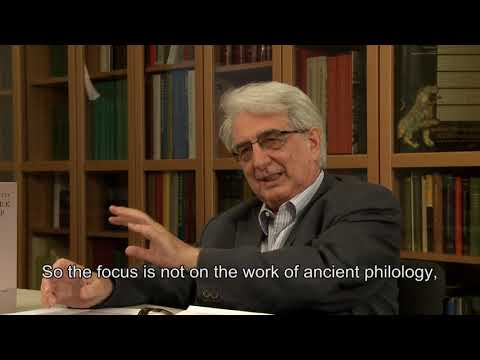 The relevancy of this lexicon - Franco Montanari interview on Lexicon of Greek Grammarians (3/6)